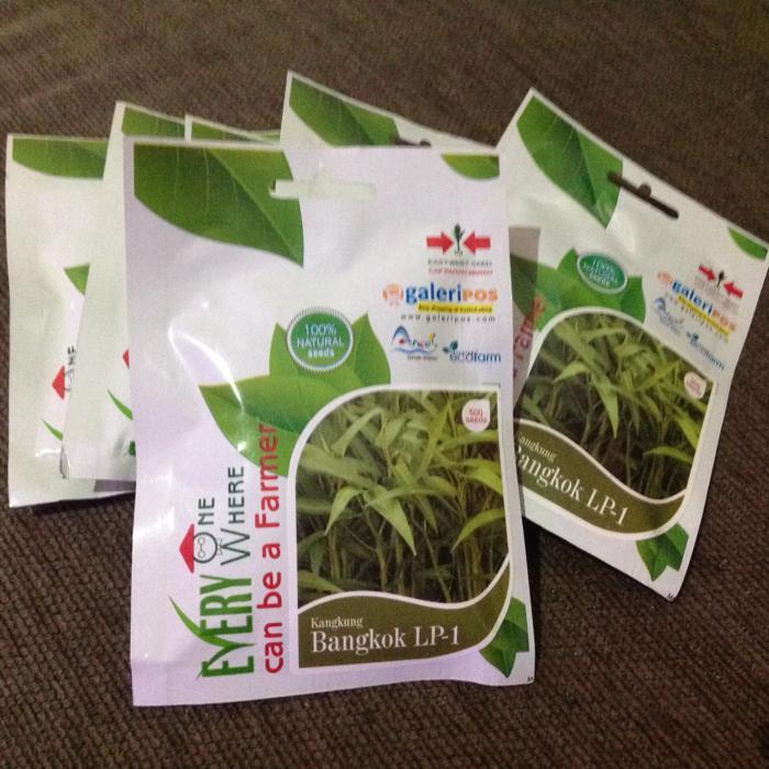 PROMO Benih Kangkung Bangkok LP-1 Cap Panah Merah 500 Seeds Original