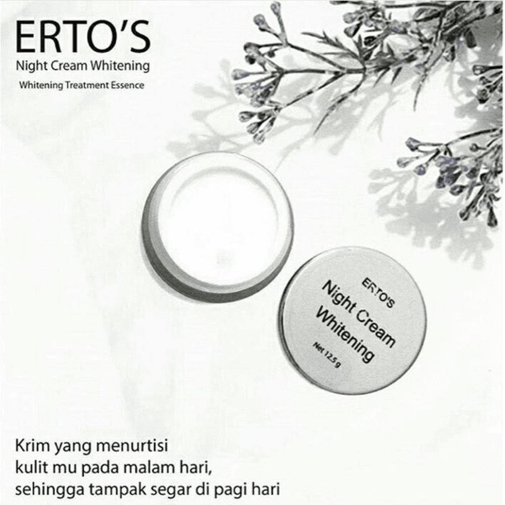 Cek Harga Baru Ertos Paket Original Cc Cream Night Serum Kinclong 01 Pemutih Wajah Alami Dan