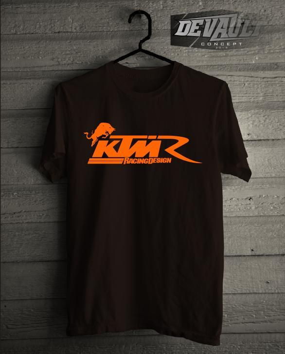 Kaos/T-Shirt Otomotif KTM Racing Design Murah