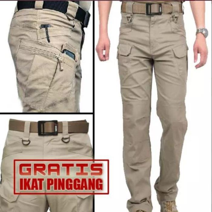 Celana kargo PDL tactical polisi ganteng / helikon