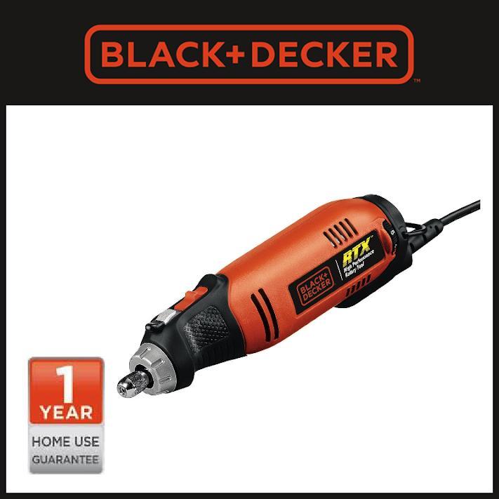 Black+Decker RTX1VP-B1 High Performance Rotary Tool Value Pack
