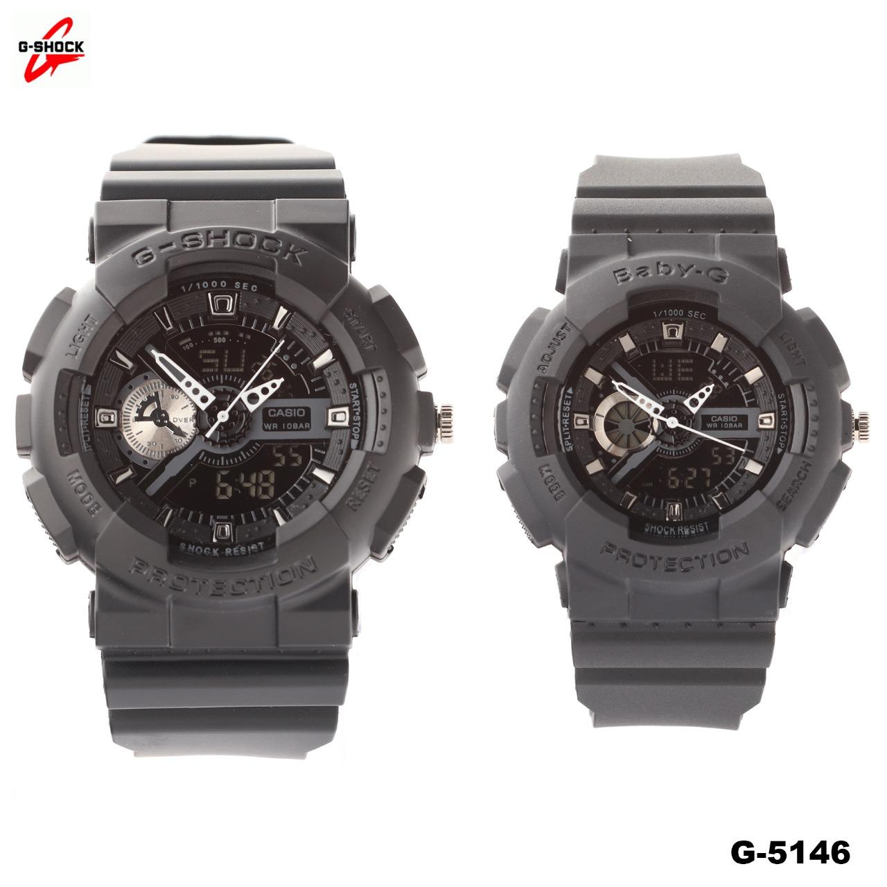 Jam Tangan Casio Couple D G-Shock & Baby-G Water Resist - Limited