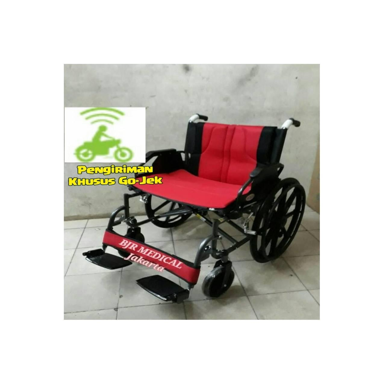Kursi Roda Jumbo Big-Size Avico LX 951B Kuat Untuk Orang Gemuk