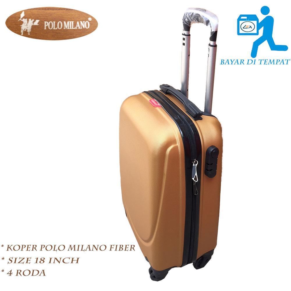 Luminox Tas Koper Softcase 4 Roda Putar Kunci Tsa 7736 Size 20 Inch Passport 10121854 Fiber Milano High Quality Promo Gold 18 Pg