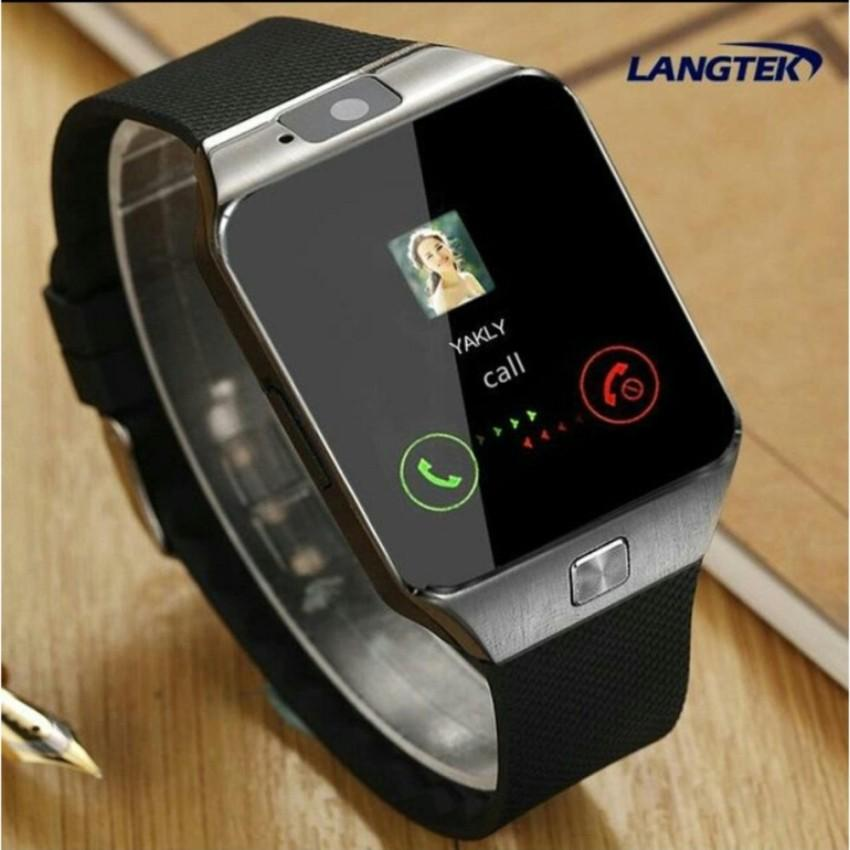 SMARTWATCH U9 / SMART WATCH DZ09 Jam Tangan HP Android Support SIMCARD.uj