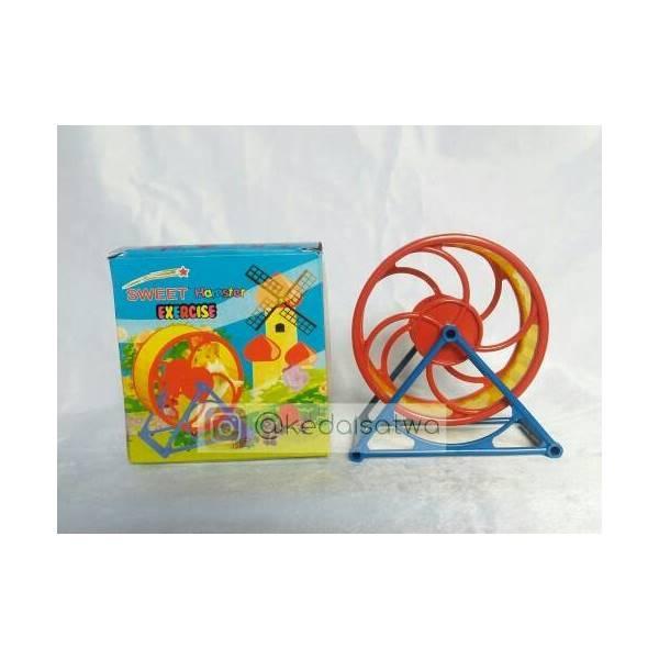 Kincir Roda Putar Mainan Hamster_Aksesoris Hewan Jogja
