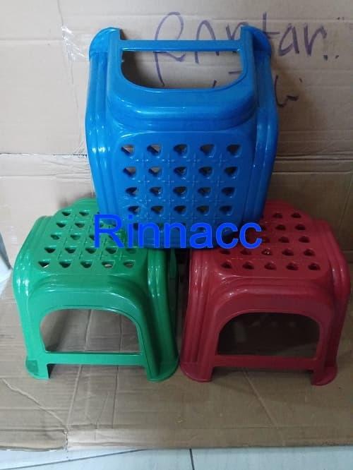 Bangku Kecil 20CM Plastik / Bangku Jongkok / Kursi Anak