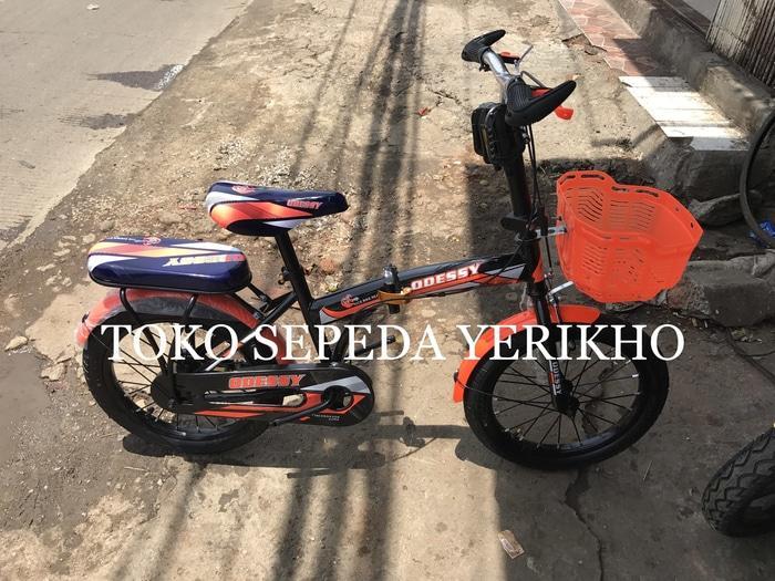 Sepeda Lipat Anak / Dewasa 16 Odessy New - GS1Y6y