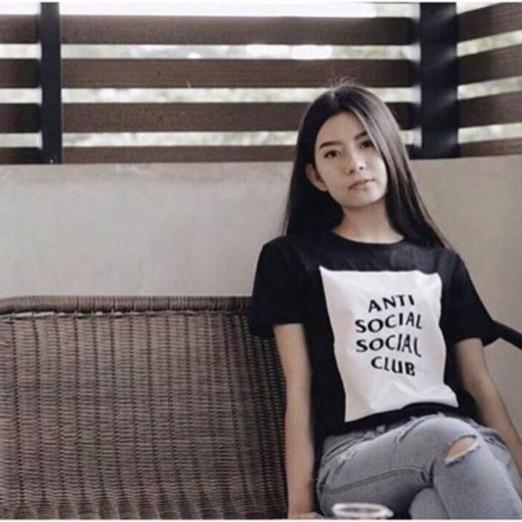 Polo Shirtanti Social Club Tshirt Tumbler Tee - Hitam No.326 kode kenz-FF284