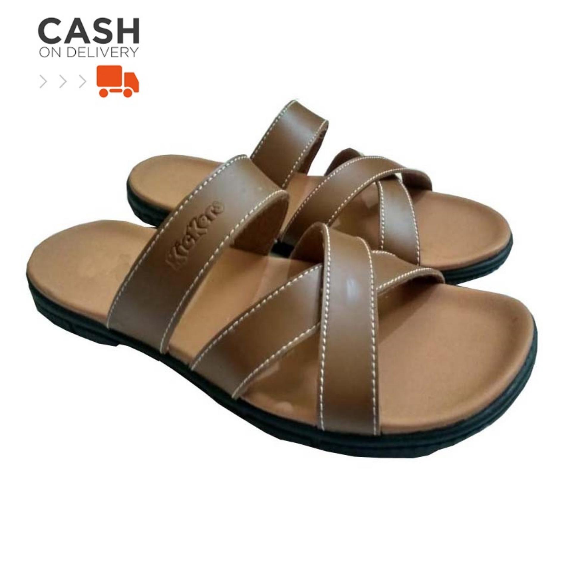 Sandal Pria Kulit Cool Dan Elegant