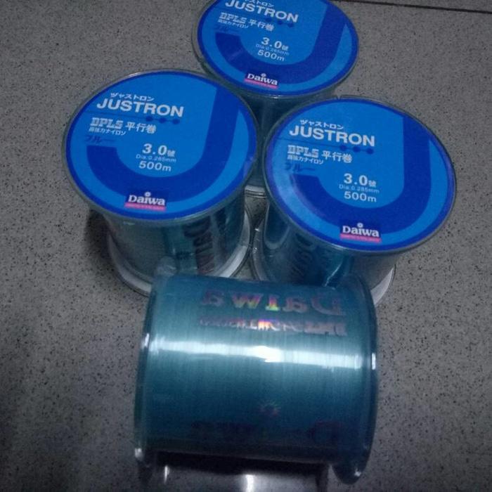 Benang Daiwa Justron 500mtr 0.285mm 12LB - 9DngwZ