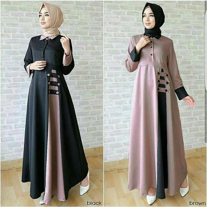Kelebihan Amorshop Gamis Maxy Lira Pakaian Muslim Wanita Long Dress