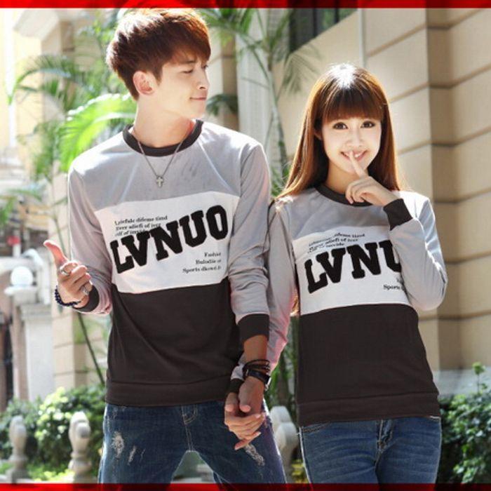 Sale [cp T-shirt Lvnuo Hitam Cl] Baju Couple Babyterry Hitam Jshuze