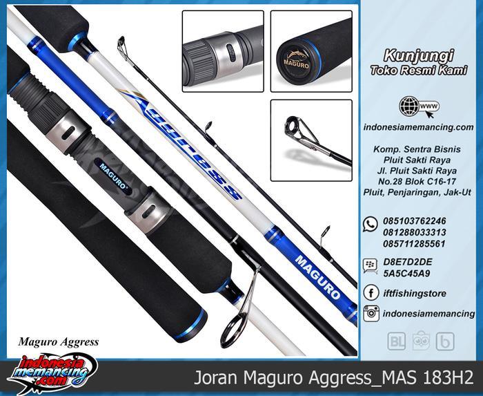 Joran Spinning Maguro  Aggress 183H2  - LWe2YF