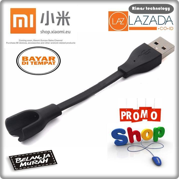 Rimas Xiaomi Mi Band 2 Charger Cable (OEM) - Black cable kabel data charger aksesoris mengisi perlengkapan hp handphone kuat kokoh Berkualitas FREE ONGKIR