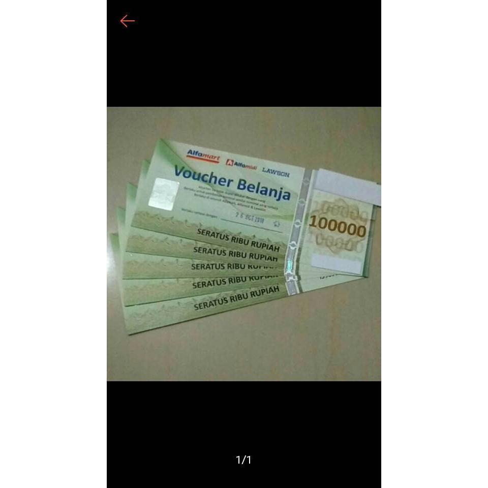 Voucher Alfamart R5284