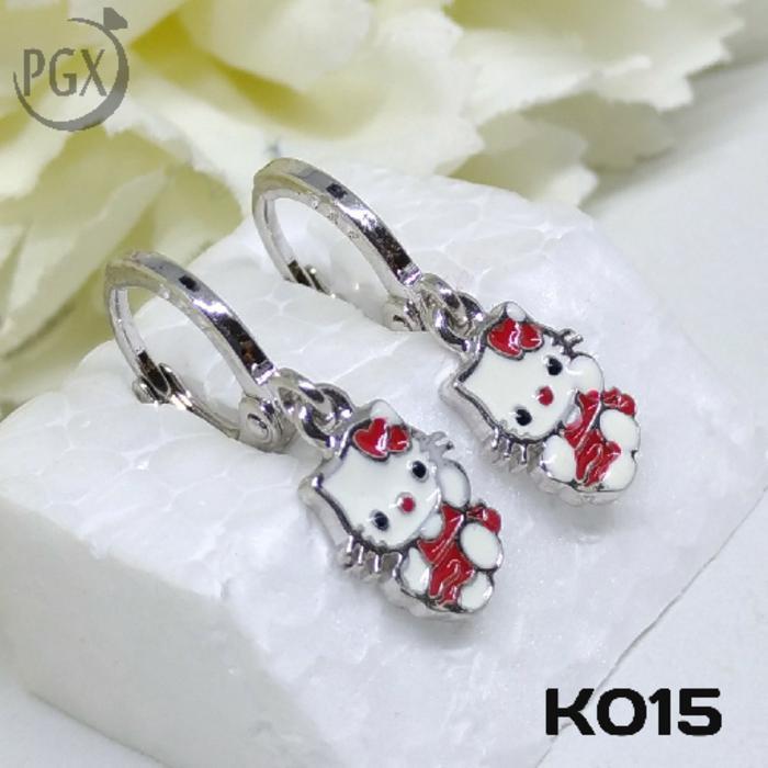 K015 Anting Anak Xuping  - Perhiasan Lapis Emas 18K