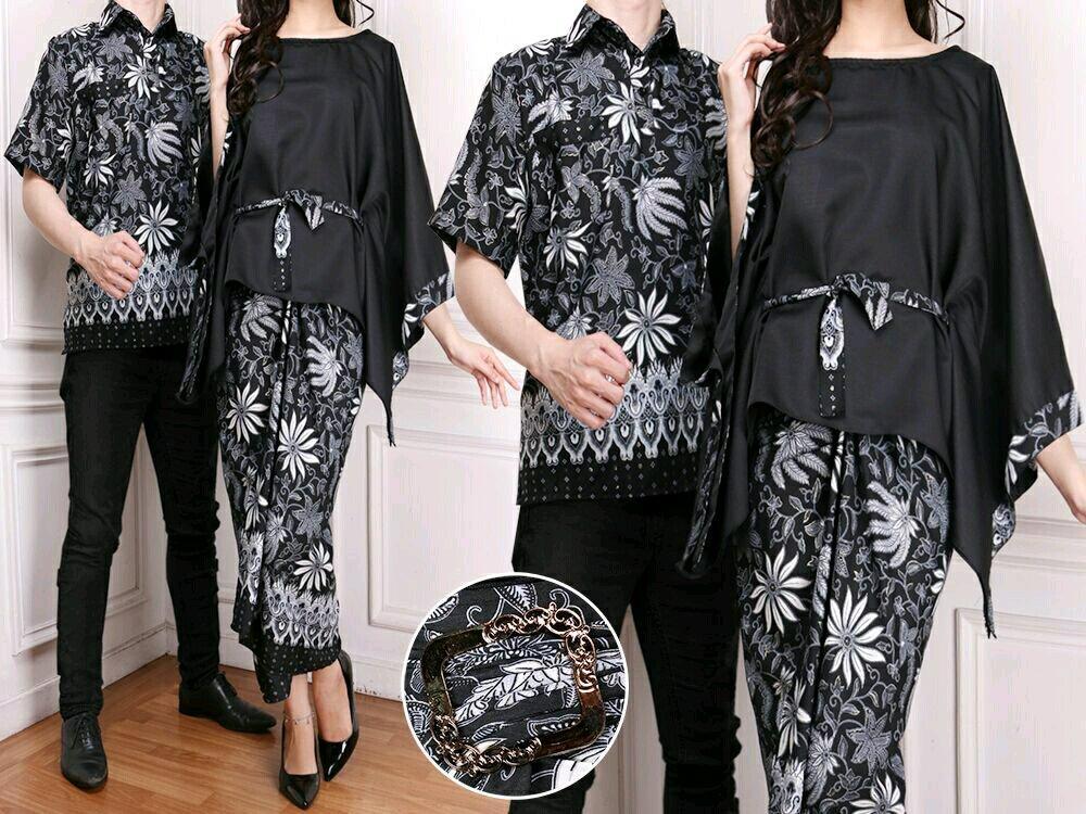 Cn 102 01 Couple Ulos Songket Batik Etnik Wanita Pria Baju Koko Tunik Kemeja Murah Putih Simple Elegan Hijab Modis Modern Busana Muslim Baju Lebaran