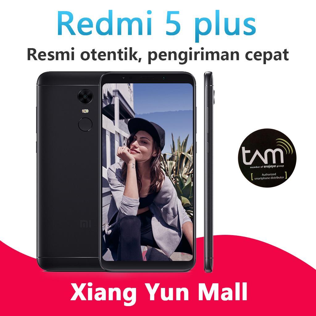 Xiaomi Redmi 5 plus - 3G/32G ponsel 4G TAM Garansi Resmi