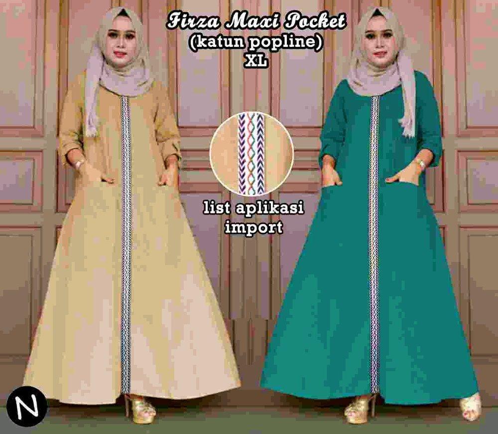 Cn 60257 Ethnic Maxi Dress Terusan Etnik Songket Batik Imut Simple Elegan Hijab Murah Modis Modern Trendi Gamis Syari Wanita Jumbo Big Size
