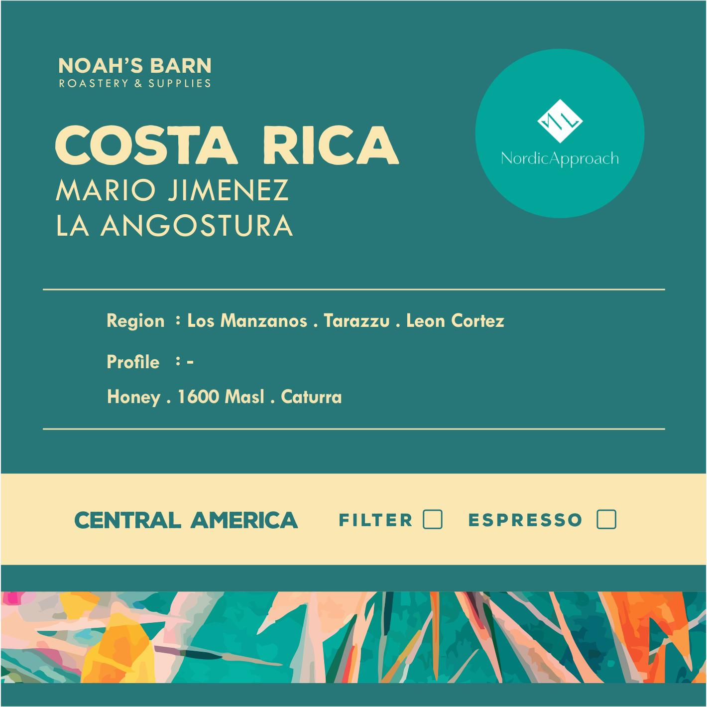 NOAH'S BARN COSTA RICA Mario Jimenez La Angostura Filter 500gr