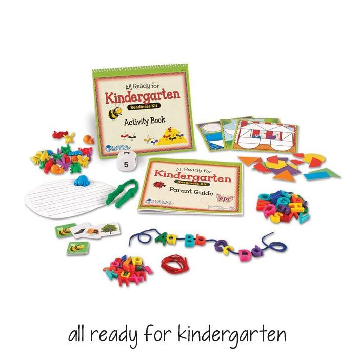 All Ready for Kindergarten by Learning Resources