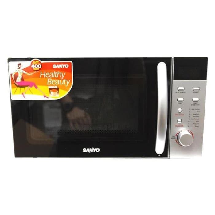 Promo Sanyo Microwave 17 Liter 400 Watt  Ems1812S Murah