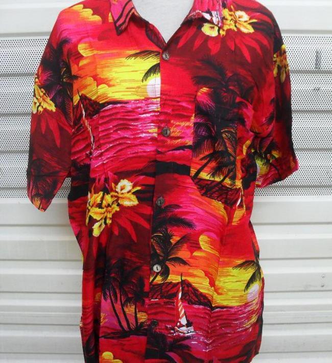 Baju kemeja pantai Bali Hawai