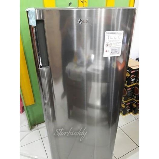 Freezer Lg Gn-304Sl ~ 6 Rak - 1Nezvl