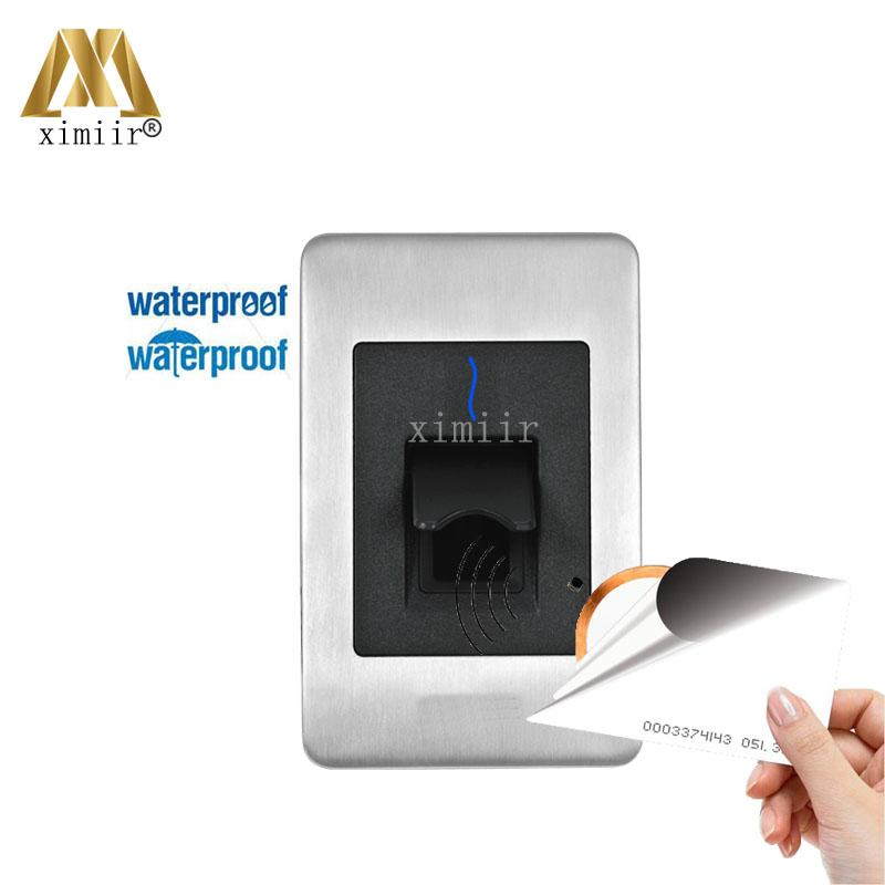 Waterproof Fingerprint Reader For Access Control System Inbio460 Access Control Panel FR1500 Fingerprint And RFID Card Reader