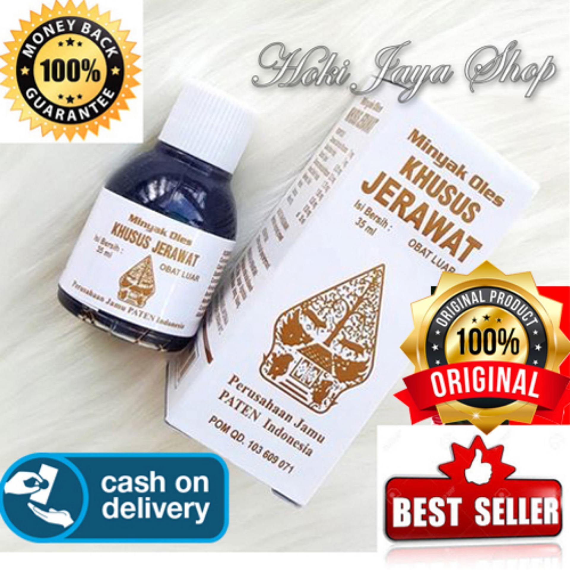 HOKI COD - obat jerawat - Minyak Oles Wayang Khusus Jerawat - 35 ml