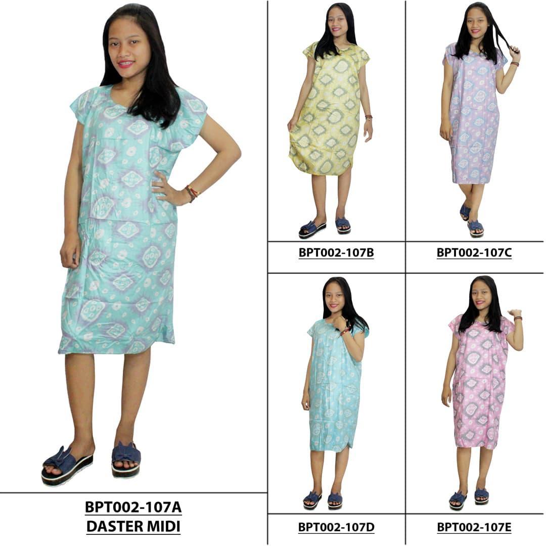 Daster Midi Benang Sari Untuk  Baju Tidur Bumil Murah BPT002154