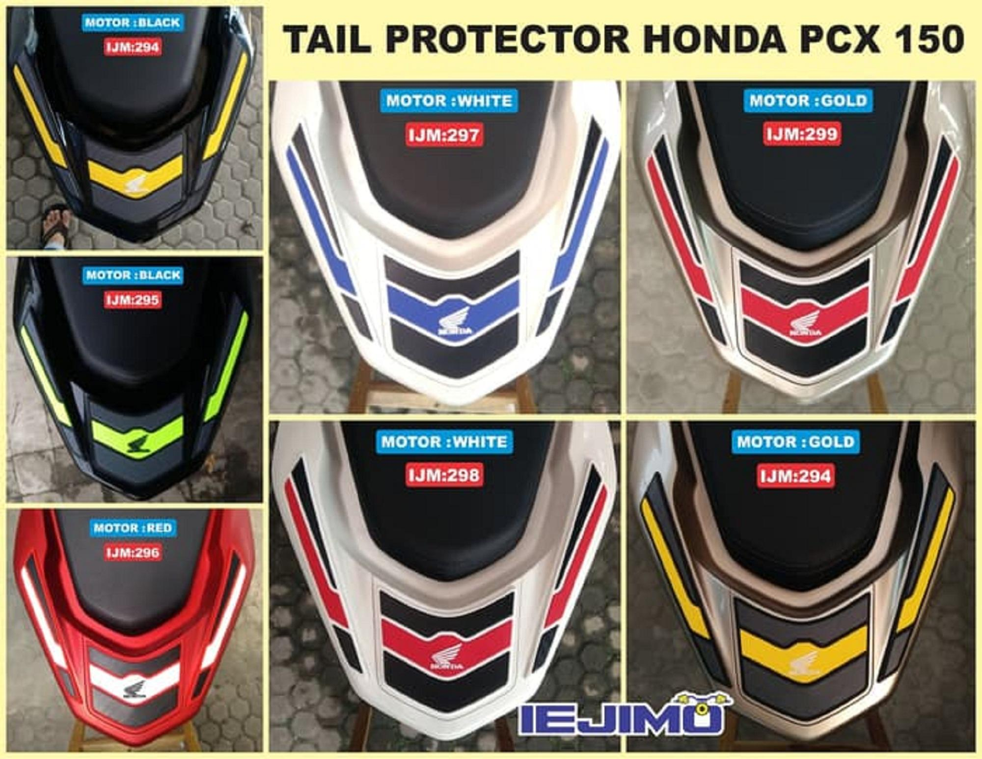 ... TAIL PROTECTOR ALL NEW HONDA PCX 150 - PELINDUNG TAIL PCX 150 - 5