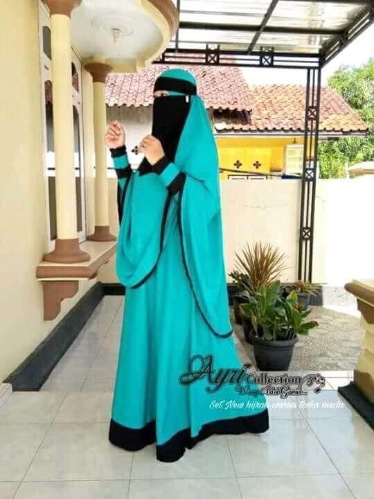 Baju Original Gamis Brenda Dress Cadar Baju Panjang Muslim Casual Wanita Pakaian Hijab Modern Modis Trendy Terbaru 2018