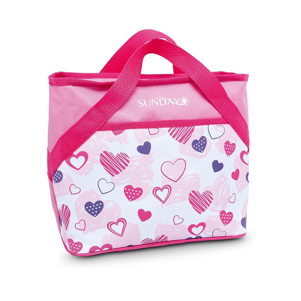 VALENCIA LUNCH BAG PINK