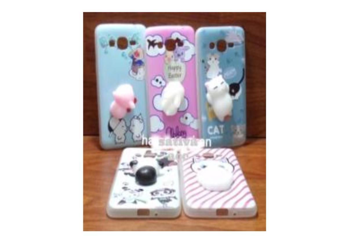 Case 3D Boneka Squishy Samsung Galaxy J1 Ace - Random Color