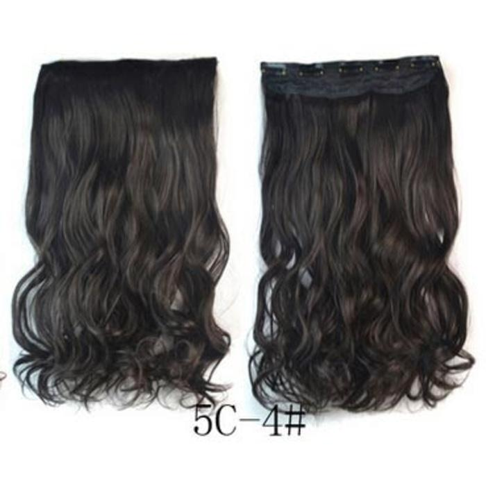 Hair Extension Clip Wig Rambut Palsu - 4A