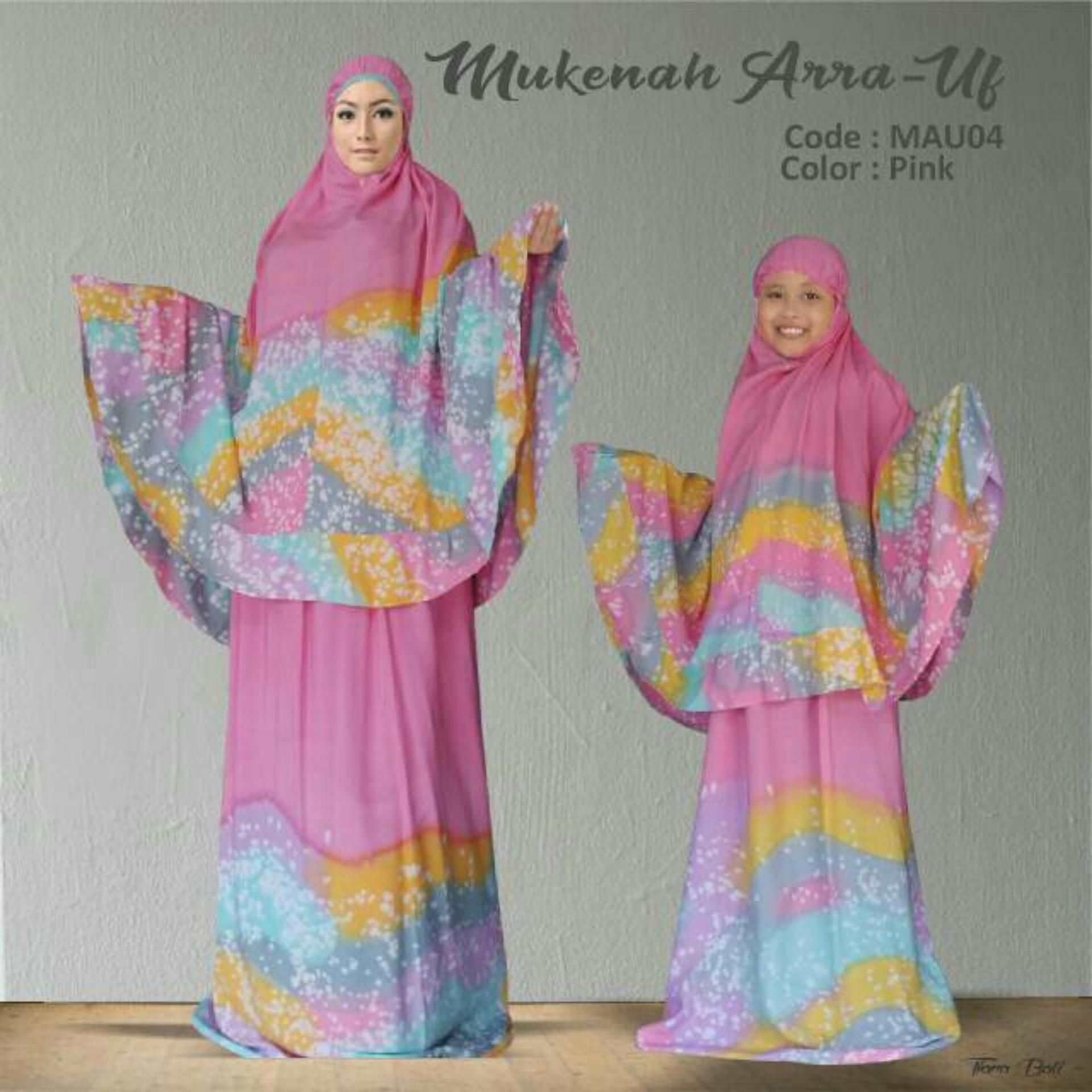 Mukena Couple Arra-Uf Pink
