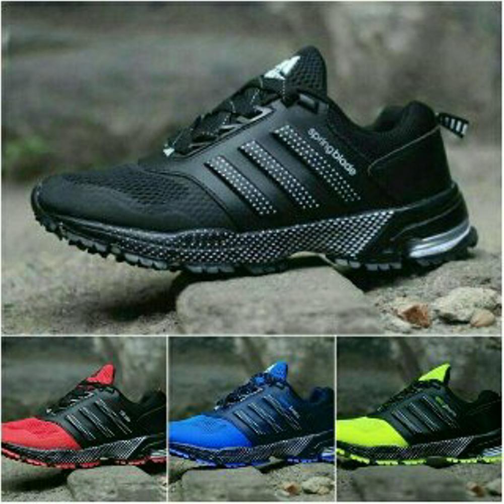 Promo Sepatu ADIDAS SPRINGBLADE IMPORT (dragon neo lari futsal running ZX NMD Airmax Spring Yeezy YZY) Fashion