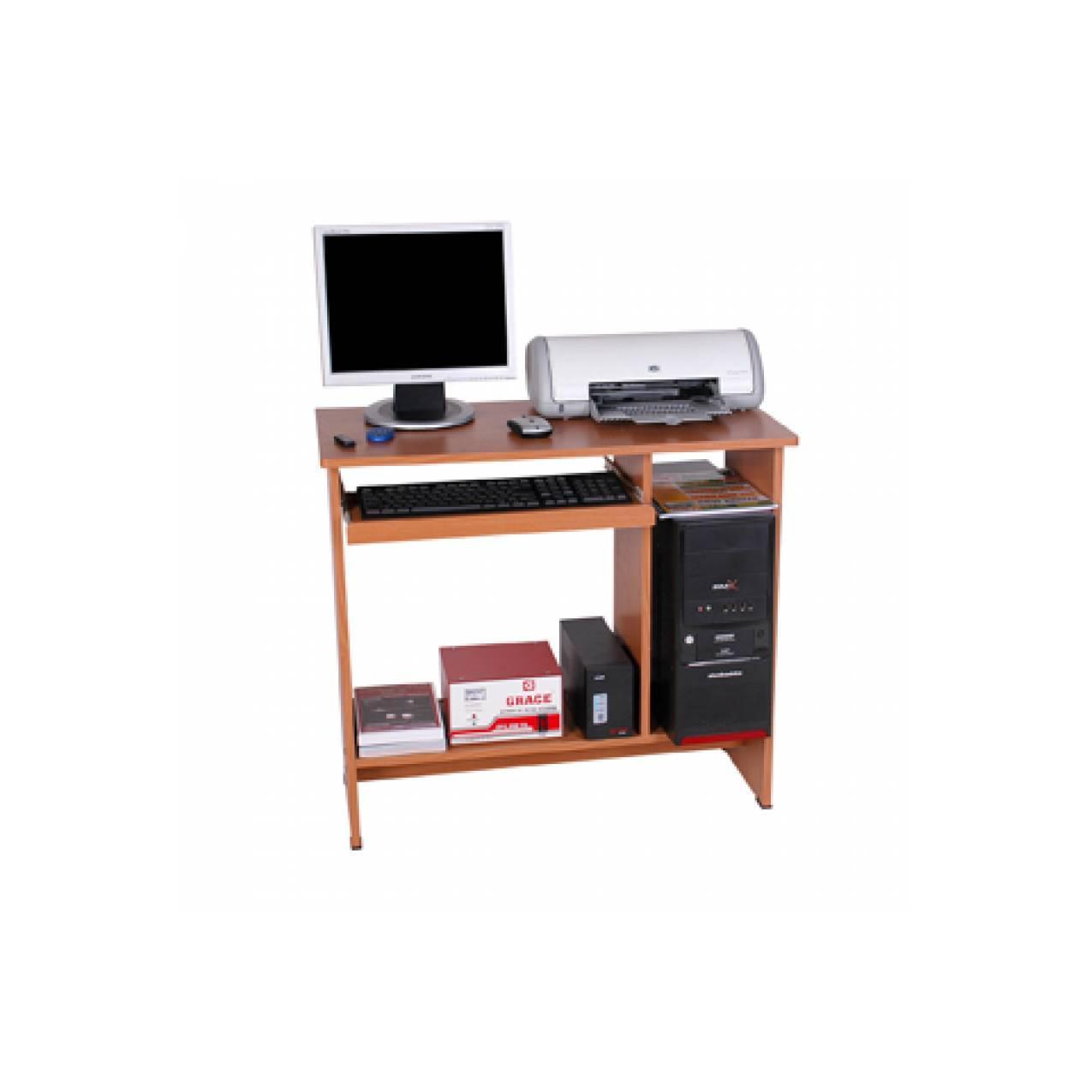 Meja Komputer Grace CD-280 Mahoni Brown