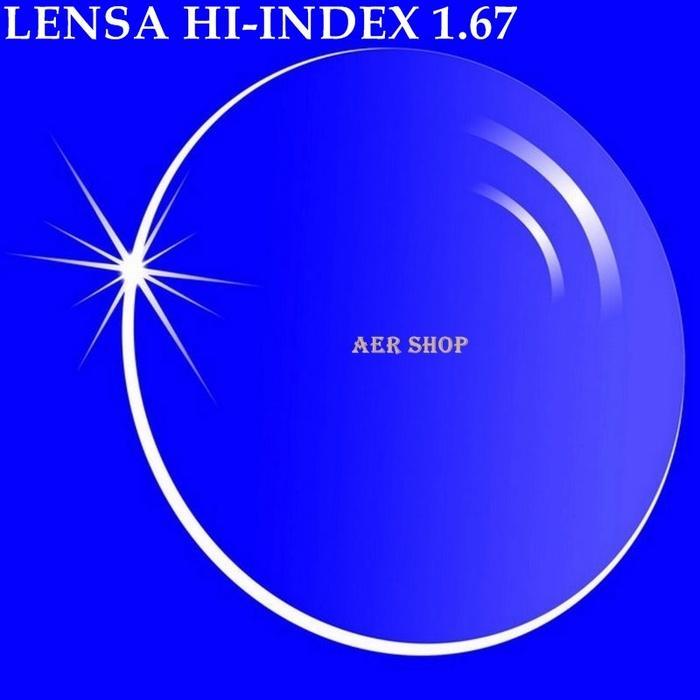 Terlaris lensa minus / lensa tipis / lensa minus HI-INDEX 1.67 / lensa 1.67 Murah!