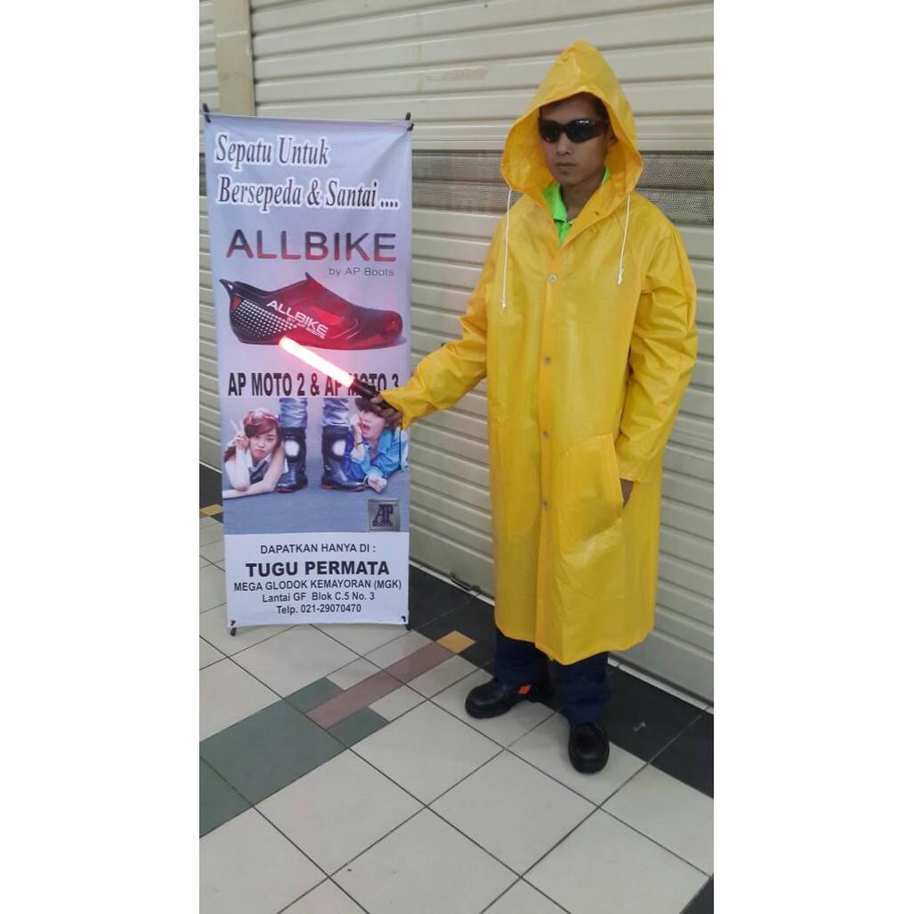 Jas Hujan Proyek Terusan Mantel - Md36yo