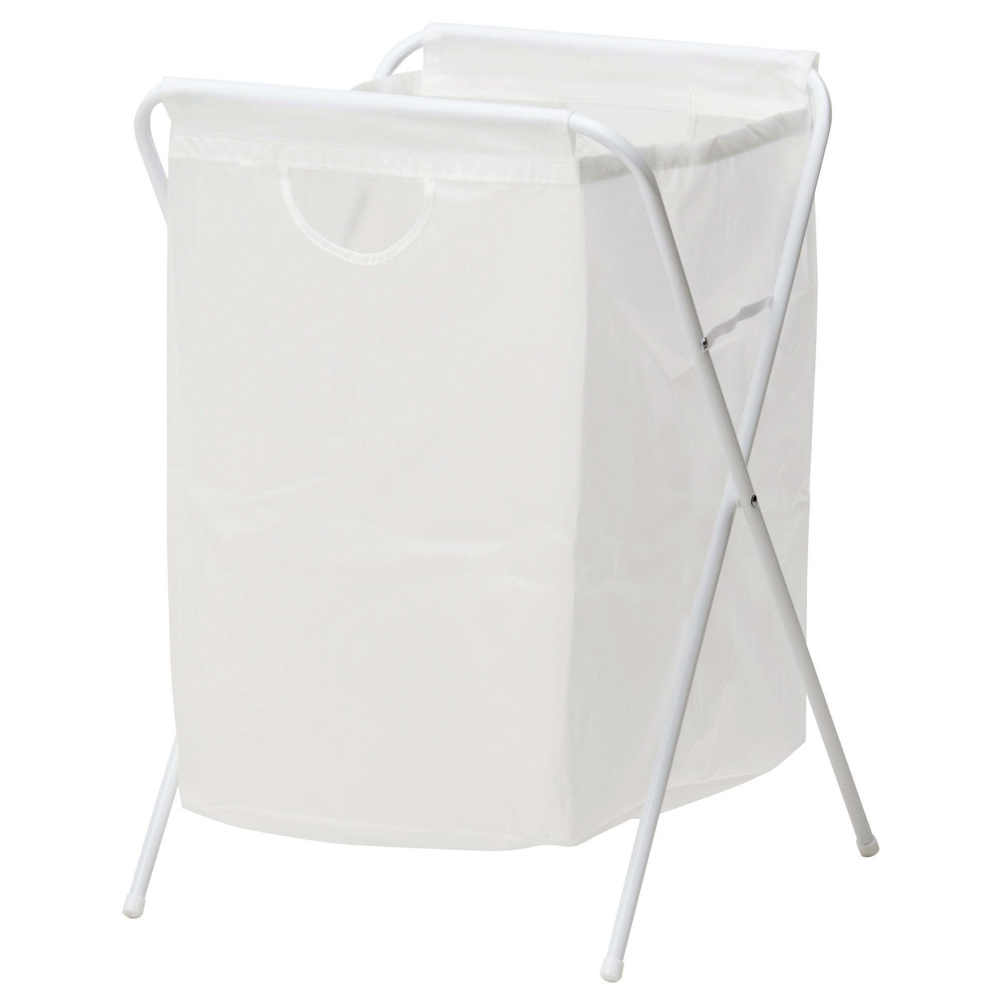 Keranjang Laundry Mainan Storage White Ikea Jall