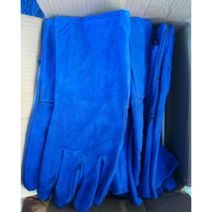 Wynns Welding Glovesarung Tangan Las W0646 Daftar Harga Terkini Source · Sarung Tangan Las Kulit Biru 14 Inch Leather Welding Gloves Blue Goo Mjg