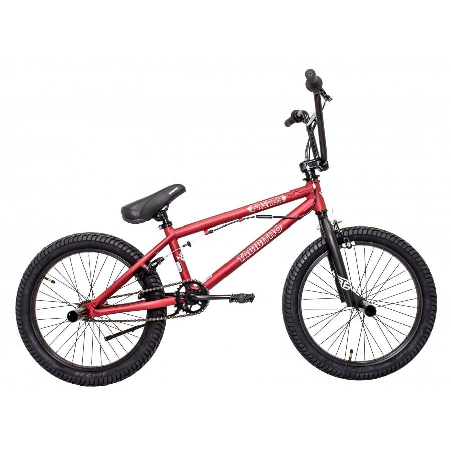 SEPEDA BMX 20 TABIBITHO FRENZY 2.0 BLK SILVERIDR1950000. Rp 1.950.000