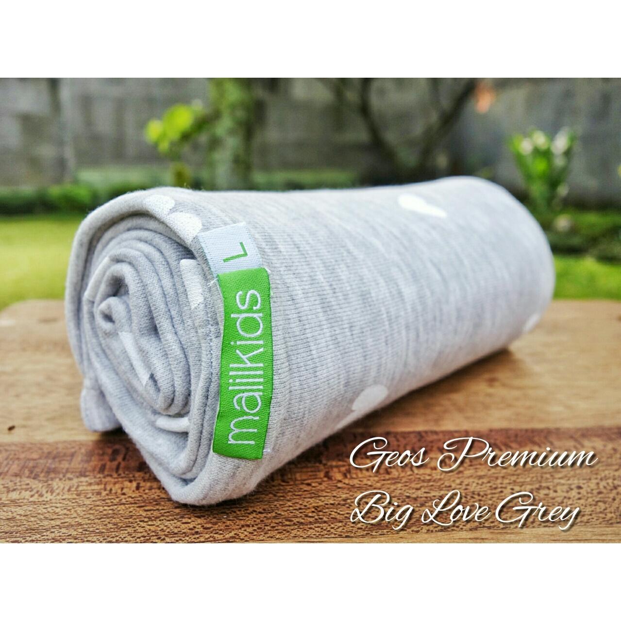 Cek Harga Baru Gratis Pouch! Size L Malilkids Geos Gendongan Kaos Premium Gendongan Instan Model Big Love Grey Terkini Pebruari 2019