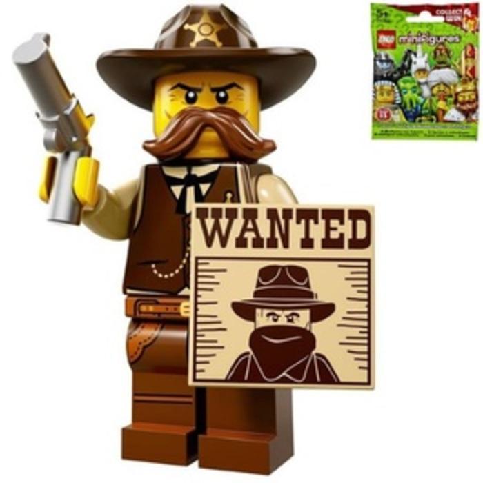 BEST SELLER!!! lego 71008-2 : Sheriff (Minifigures Series 13)