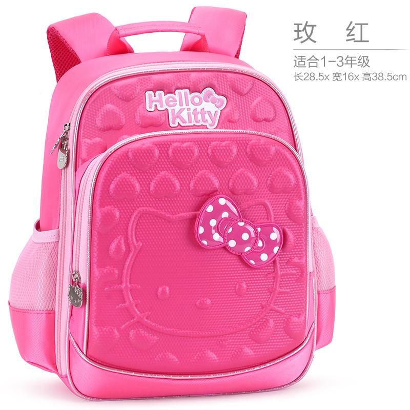 0d69e7c01 Children's School Bags Young Student's Girls 1-3-4 Grade hello kitty 6-