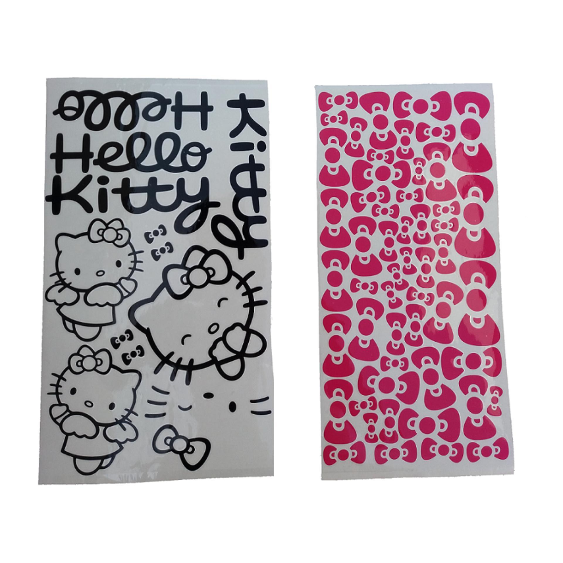 Cek Harga Baru Hello Kitty Karakter Universal Cutting Sticker Motor Gambar Produk Rinci Terkini