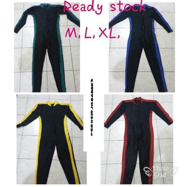 Baju renang diving panjang / selam elastis untuk dewasa pria dan wanita
